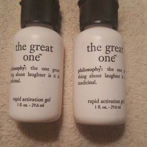 """PHILOSOPHY """"THE GREAT ONE""""RAPID ACTIVATION GEL 1oz"""